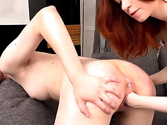 FIST4K. Blonde and redhead...