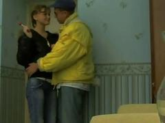 Picked up Russian teen gives...
