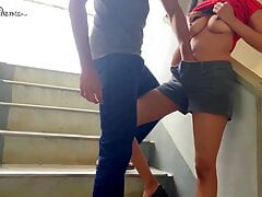 Teen Couple Fucked and Squirted...