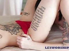 xhamster Leigh Raven and Nikki Hearts...