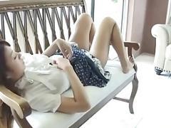 Hot Sexy Asian Girl Pantyhose...