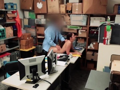 Big tits thief fuck by officers...