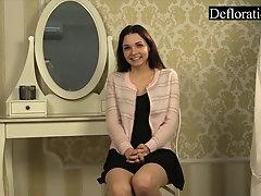 Sexy casting of Alesya