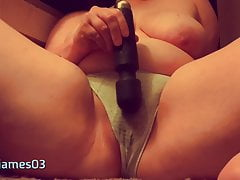 Trying to be quiet, squirting in...