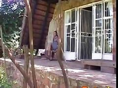 Slave teen in Africa fucked by...