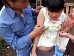 xhamster Flexible facialized Asian teens,...