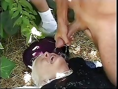 grannie fuck in the wood -bymonique