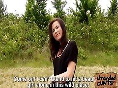 Stranded Nikki and her banging...