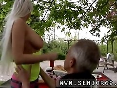 Old and young girl cum Paul is...