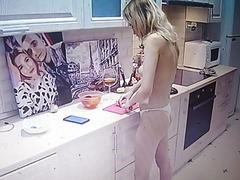 Teen (Blonde cook .. beautiful...
