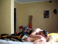 Lusty blonde Abba blows and gets...