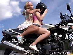 Young g/g biker girls
