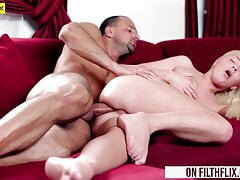 Anal Fuck For Blond Teen Babe