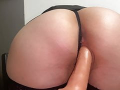 Cutie Fucks Herself with a...
