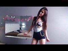 Beautiful Japanese webcam model...
