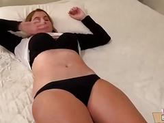 Teen Stepsis Wakes up to a Hard...