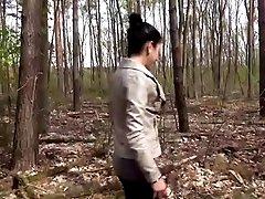 German Amateur Teen fuck outdoor...