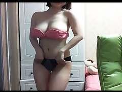 little hot korean webcam